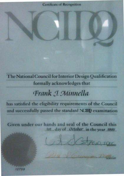National Council For Interior Design Qualification Interior Designer